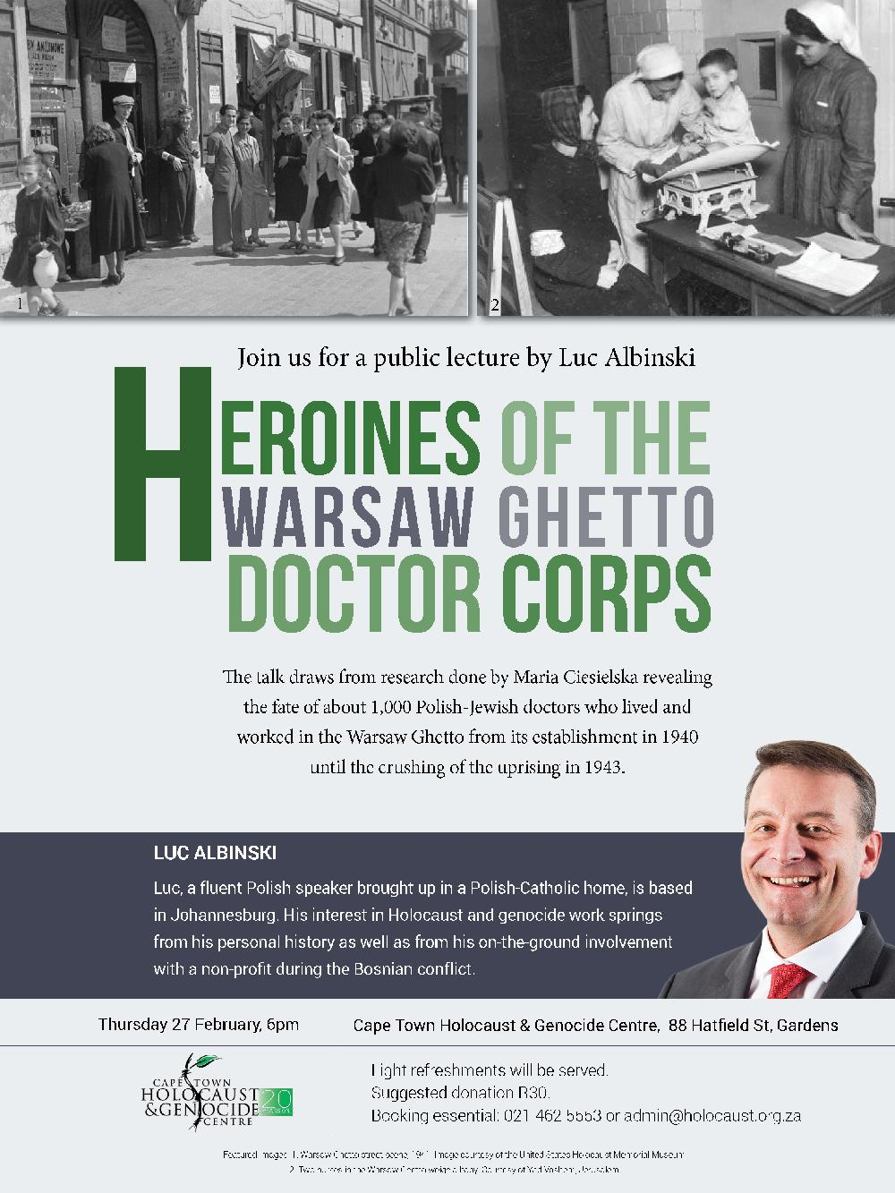 Heroines_of_the_Warsaw_Ghetto_Doctor_Corps_Luc_Albinski_CTHGC