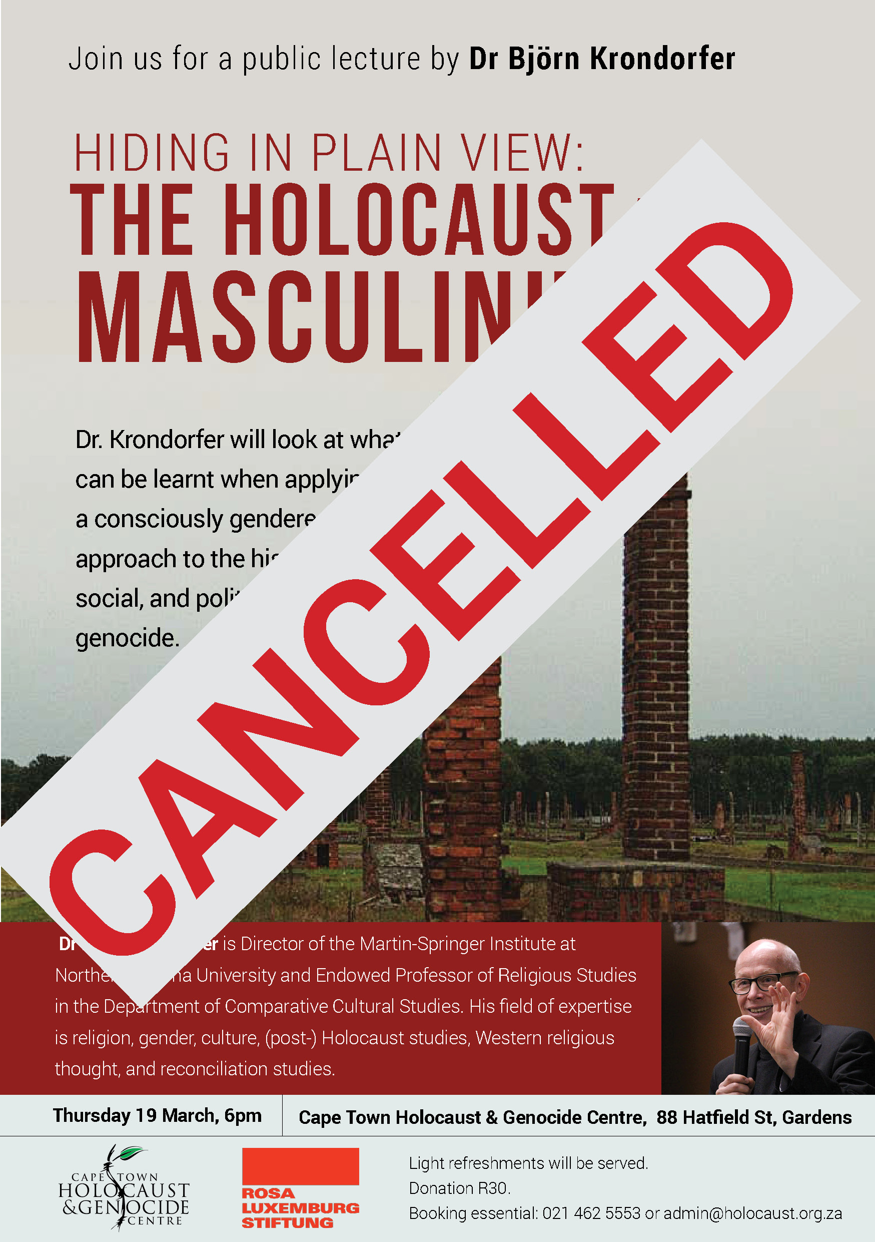 bjorn_krondorfer_The_Holocaust_and_Masculinities_Cancelled