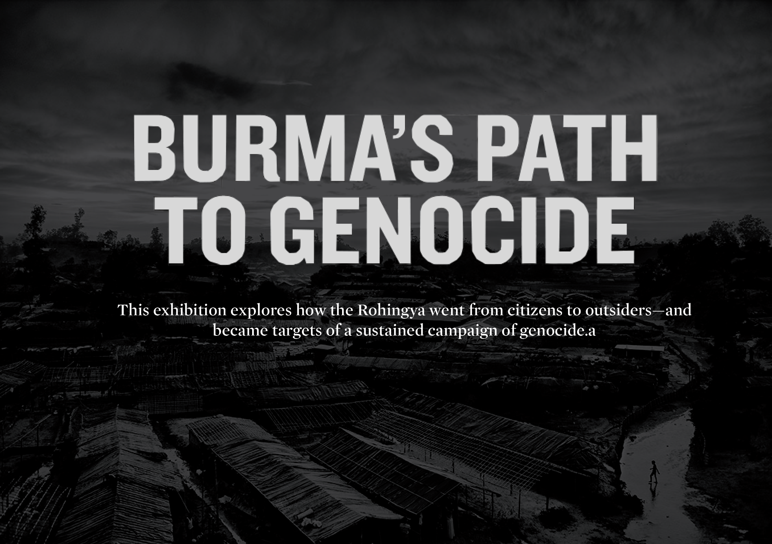 Burma's Path To Genocide