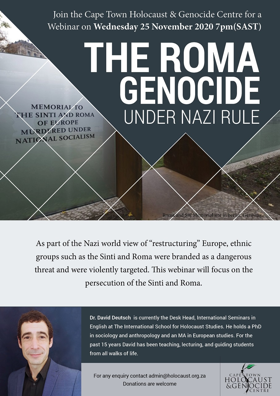 Roma Genocide Poster